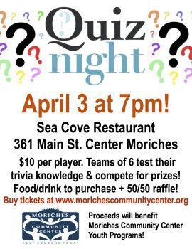 Quiz Night @ Sea Cove Restaurant   Center Moriches   New York   United States