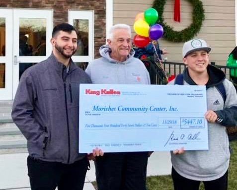 Moriches Community Donation