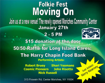 Folkie Fest- Moving On @ Moriches Community Recreation Center | Center Moriches | New York | United States