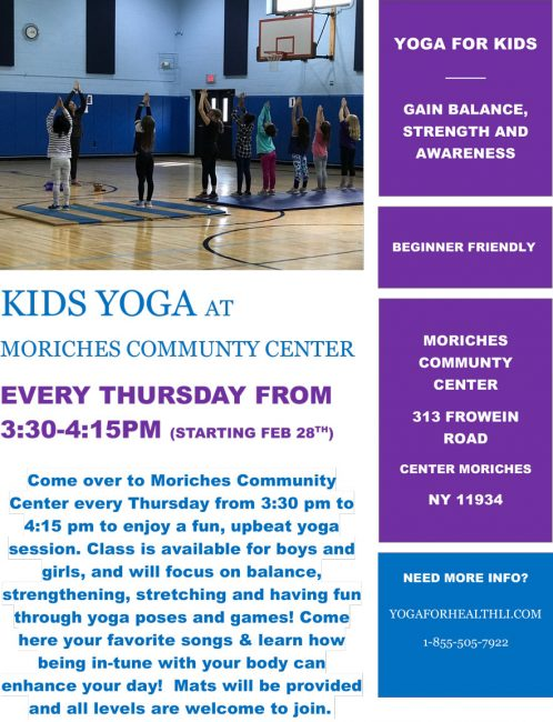 MCC kids yoga