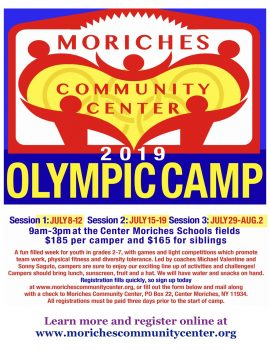 Olympic Camp @ Clayton Huey Elementary School fields | Center Moriches | New York | United States