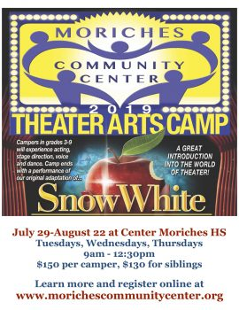 Theater Arts Camp @ Center Moriches High School Auditorium | Center Moriches | New York | United States