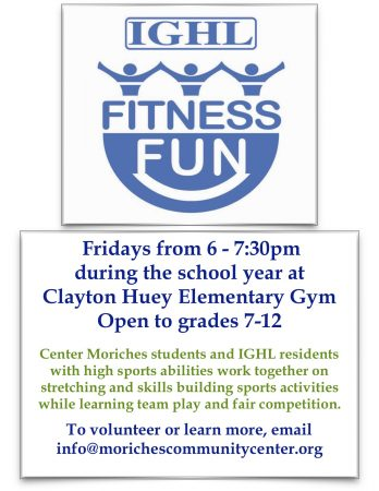 IGHL Fitness Fun @ Clayton Huey Elementary School | Center Moriches | New York | United States