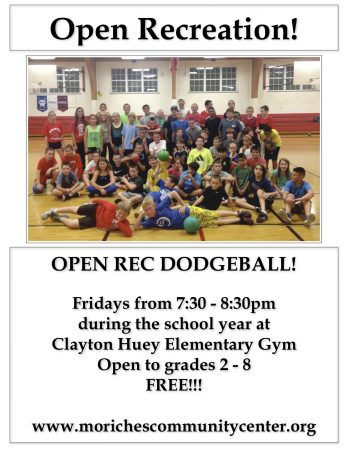 Open Recreation/Dodgeball @ Clayton Huey Elementary School | Center Moriches | New York | United States
