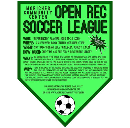 Open Rec Soccer League @ Moriches Community Center turf field | Center Moriches | New York | United States