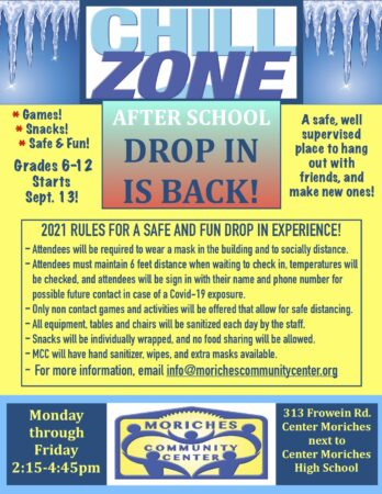 After School Drop In @ Moriches Community Center   Center Moriches   New York   United States
